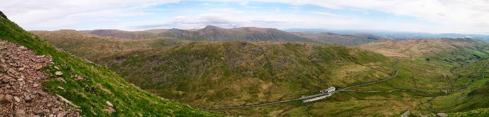 Red Screes from Kirkstone Pass