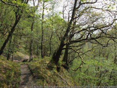 Henrhyd Falls and Nant Llech Walk Route Map