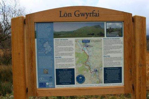 Lon Gwyrfai - Rhyd Ddu to Beddgelert