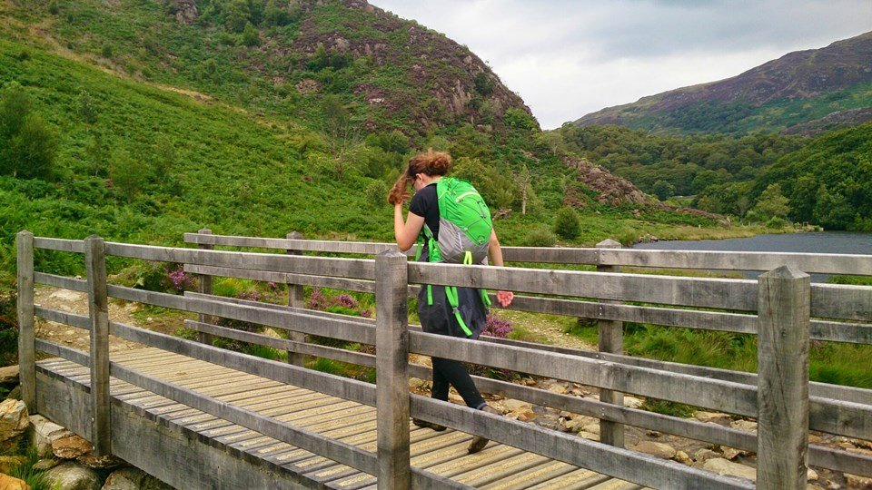 An Easy Family Walk Around Llyn Dinas Near Beddgelert