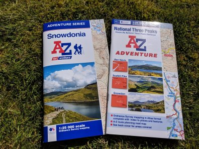 Navigation Skills 3 - What's the best map for walking?
