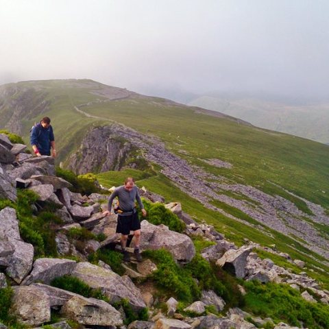The Nantlle Ridge Traverse from Rhyd Ddu to Llanllyfni