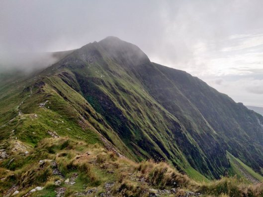 The Nantlle Ridge Traverse from Rhyd Ddu to Llanllyfni