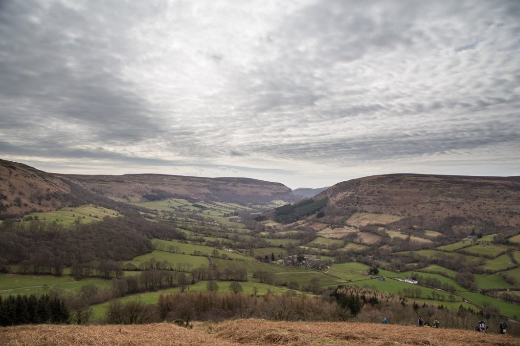 Black Mountains Walk from Llanthony - Vale of Ewyas Horseshoe