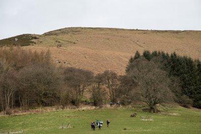Black Mountains Walk from Llanthony - Vale of Ewyas Horseshoe