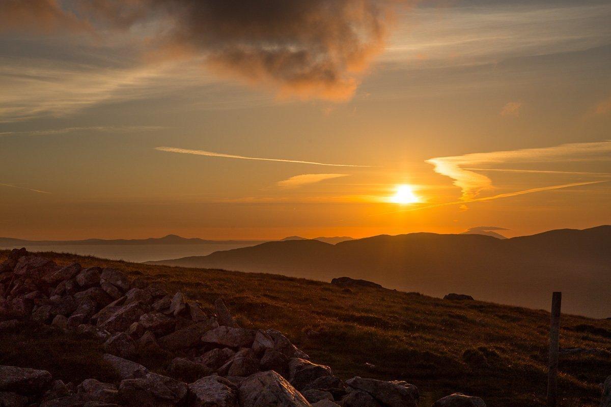 wild camping in Snowdonia - Cader Idris