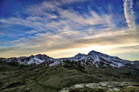 Snowdon from Moel Berfedd