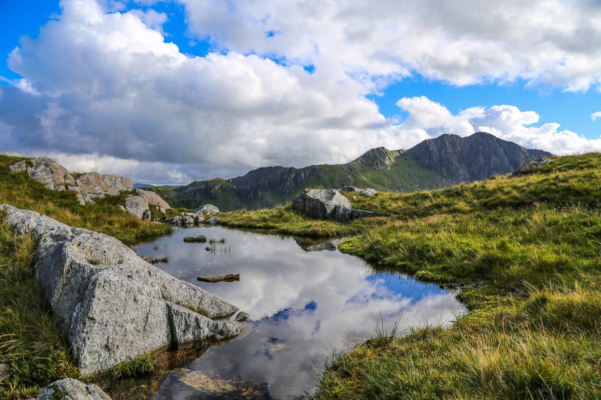 Secret Snowdonia - Craig Fach from Pen y Pass