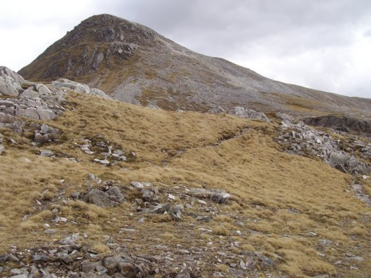 From the ascent, via Lairig Leacach Bothy