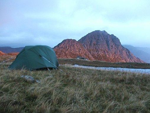 Wild Camping in Snowdonia - Glyderau