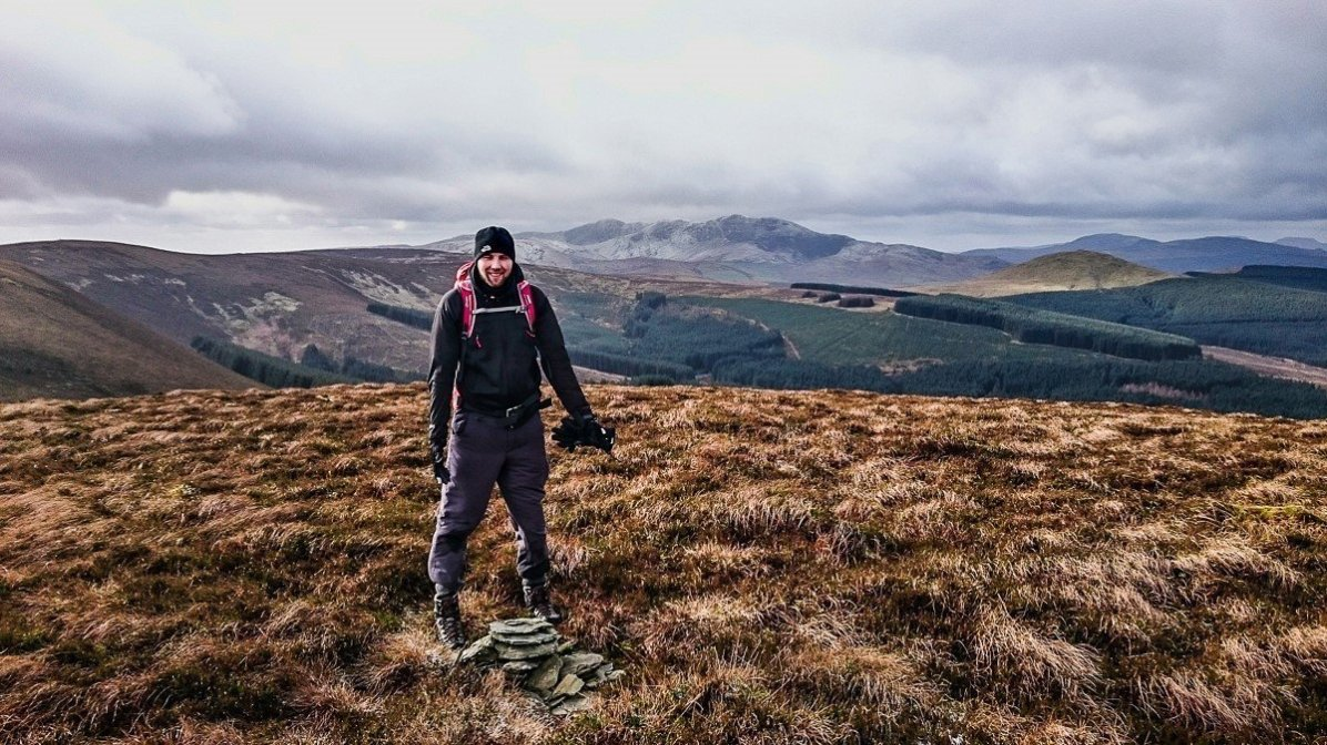 Heather Bashing in the Hirnant Hills