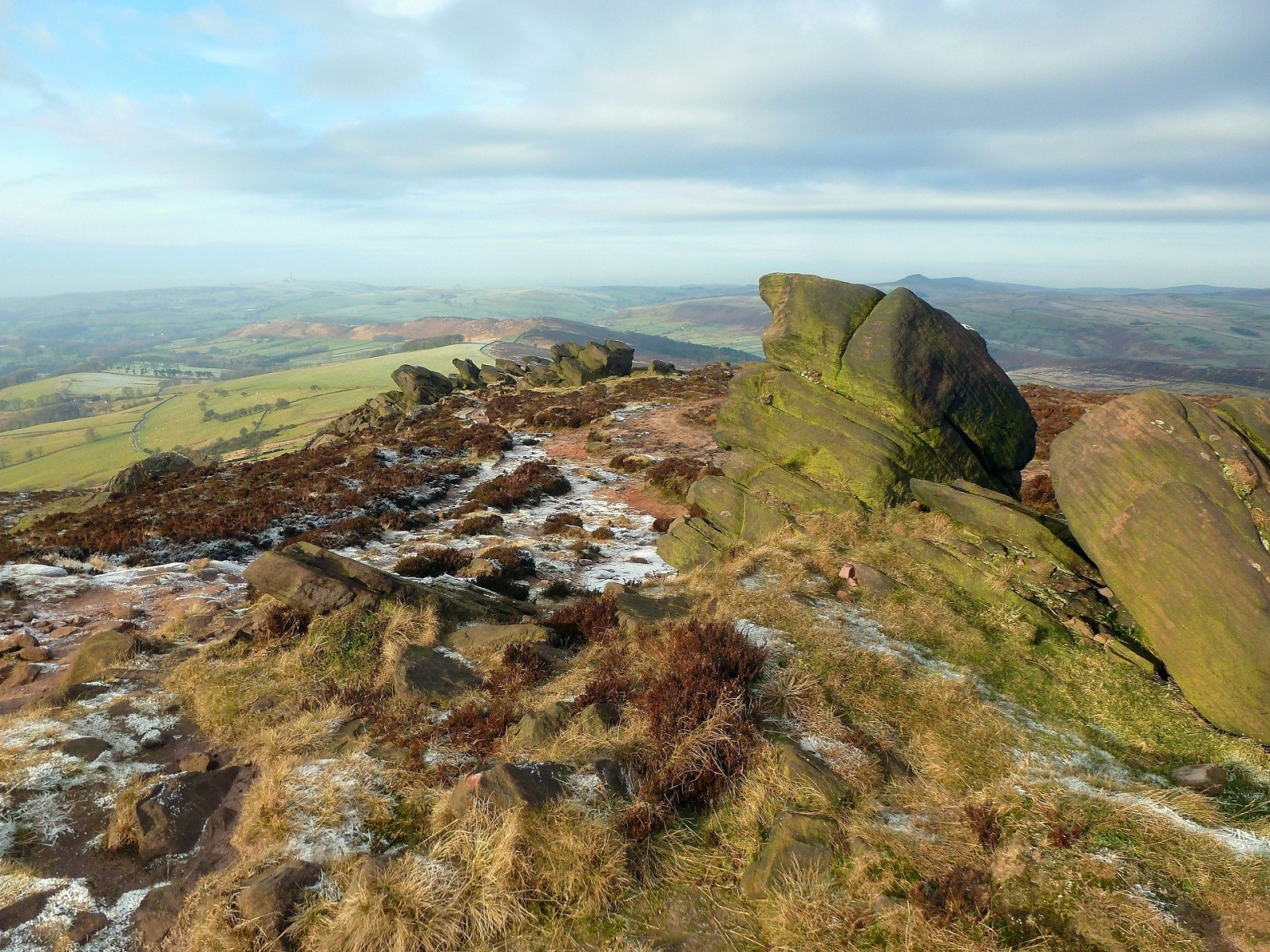 A Walk to The Roaches and Lud's Church