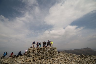 1 Scafell Pike (978 metres) The Highest Mountains In England - The Top 25