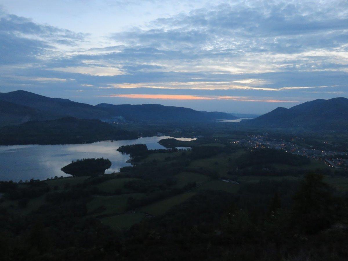 Walla Crag from Castlerigg or Keswick