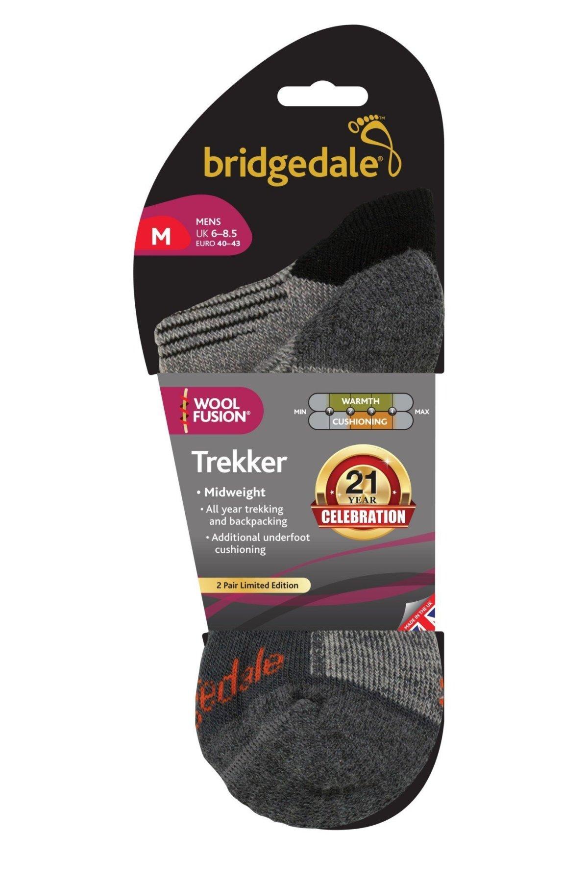 Bridgedale Trekker celebrates it's 21st birthday