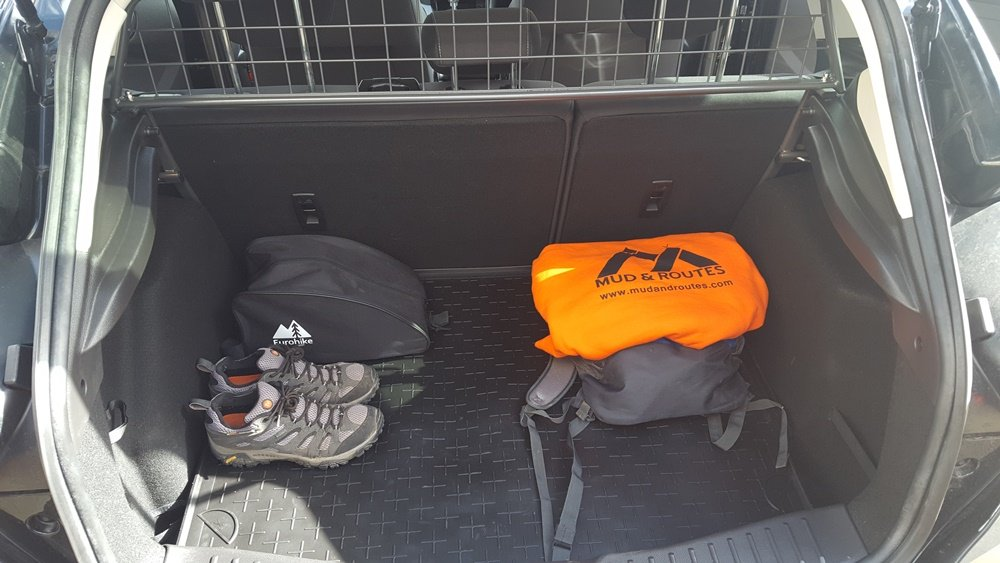 packing your car for a walk