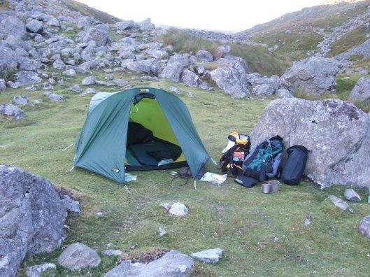 Wild Camping in Snowdonia - Carneddau