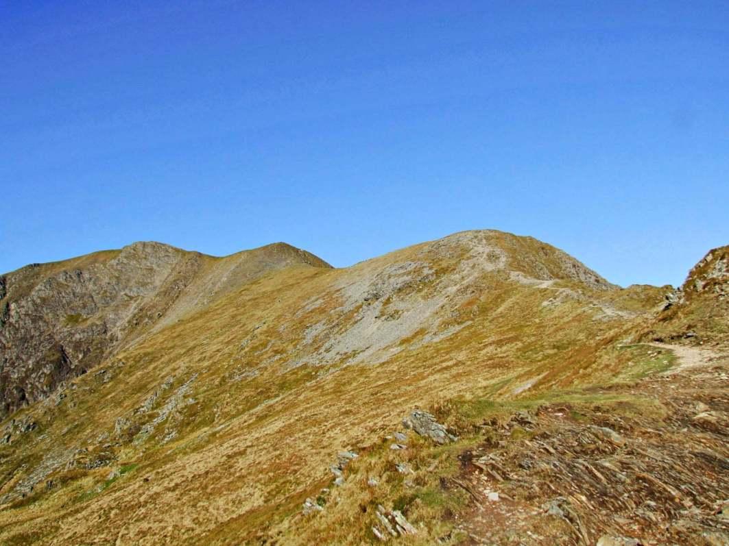 28 Walk up Y Garn, Glyderau and Tryfan from Ogwen
