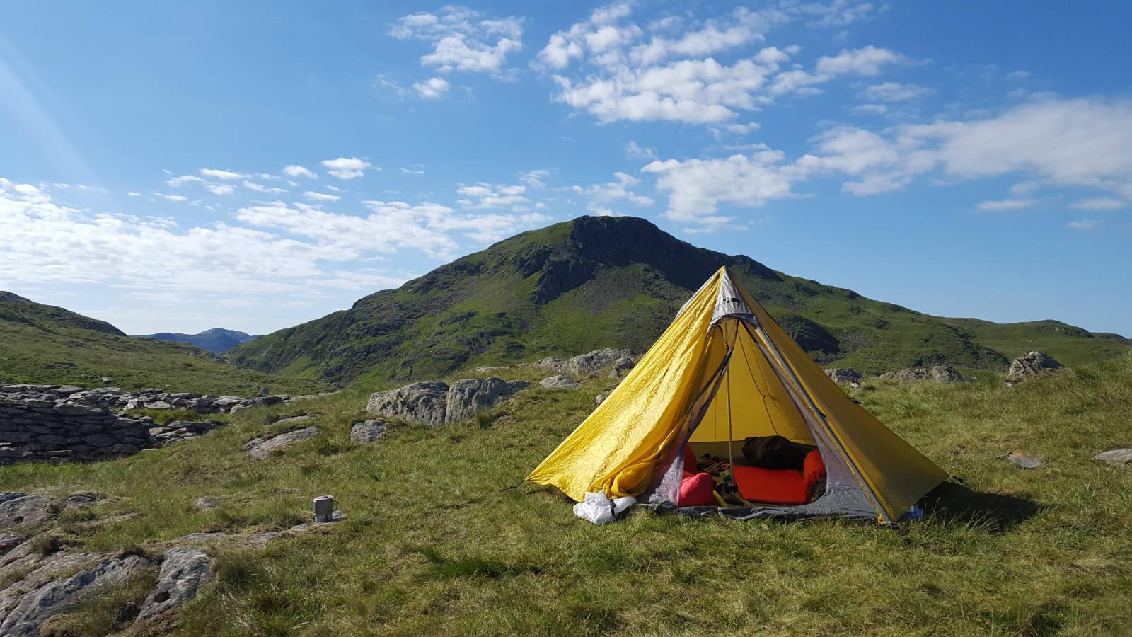 Summer Wild Camp on Snowdon