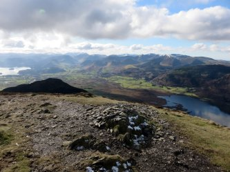 Ullock Pike's summit
