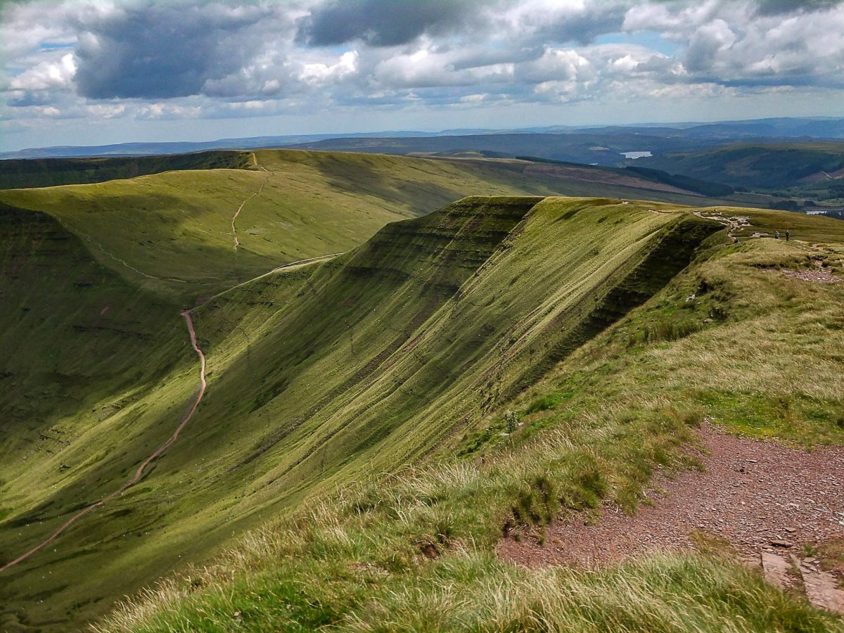 All the Walking Routes up Pen y Fan