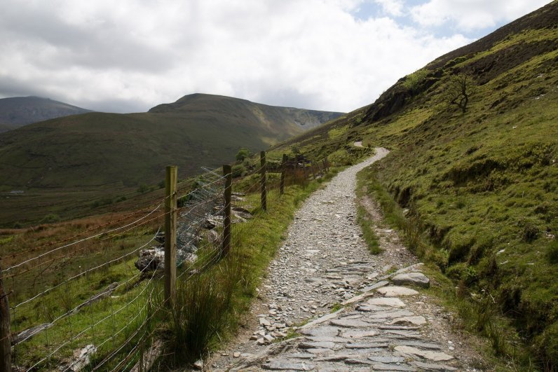 Clogwyn y Gwin Path and Maesgwm (127 of 135)