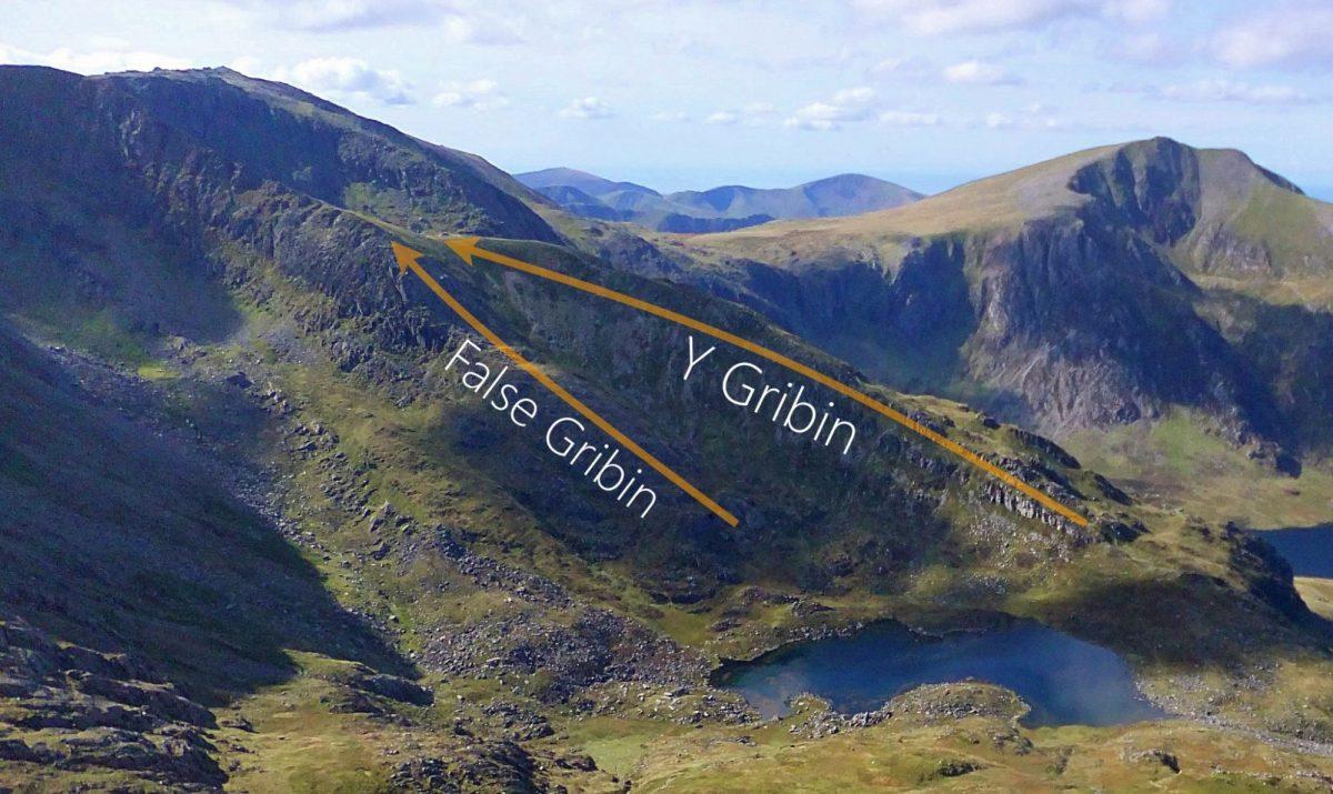 Best Grade 1 Scrambles in Snowdonia Gribin Ridge Glyder Fach