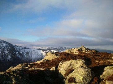 The 100 highest mountains in Wales020