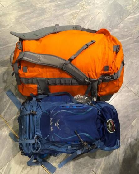 Vango Force 10 Caldera 80L Duffle Review