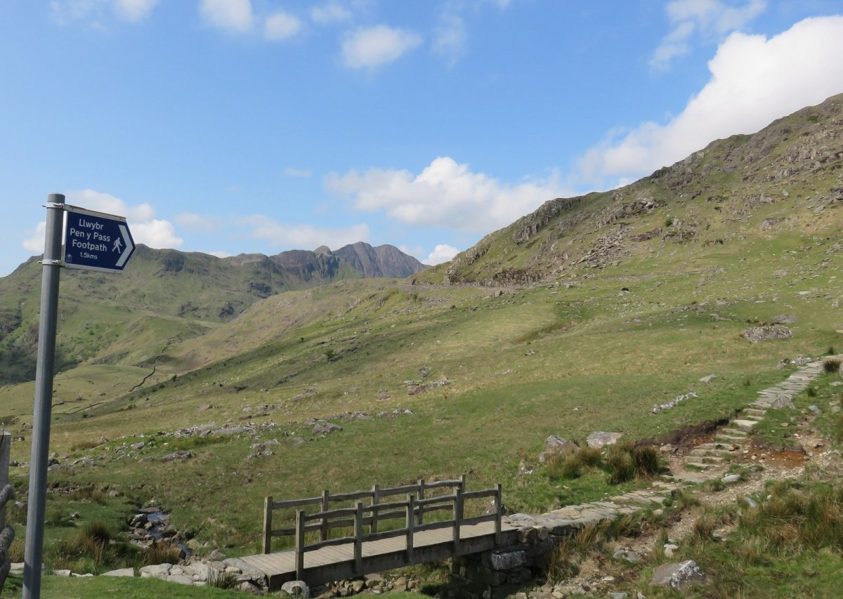 Crib Goch Scramble from Pen y Pass and Pen y Gwryd