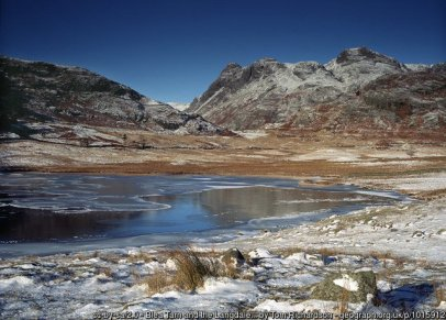 Walk to Lingmoor Fell and Blea Tarn from Great Langdale