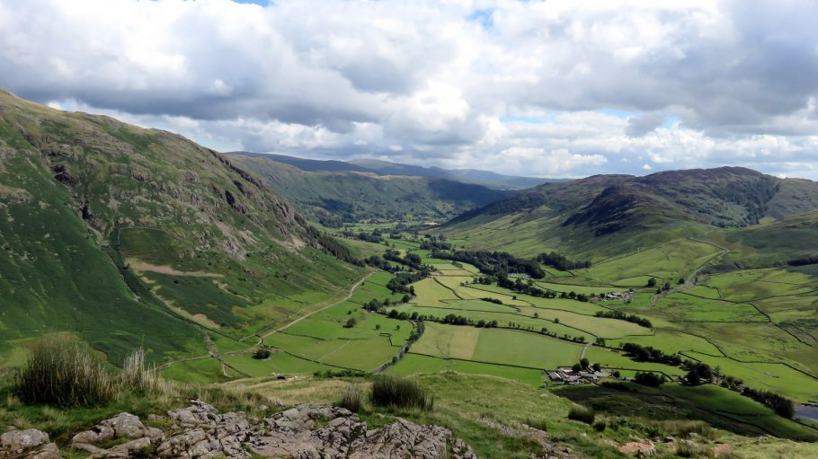Walk up Bowfell and Crinkle Crags via The Climbers Traverse from ODG