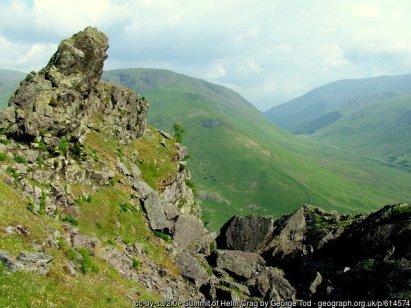 Summit Rocks on Helm Crag