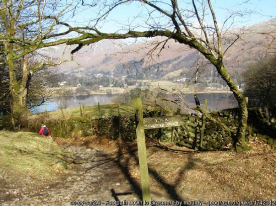 Easy Walk from Elterwater to Grasmere - High Close and Red Bank Walk from Langdale