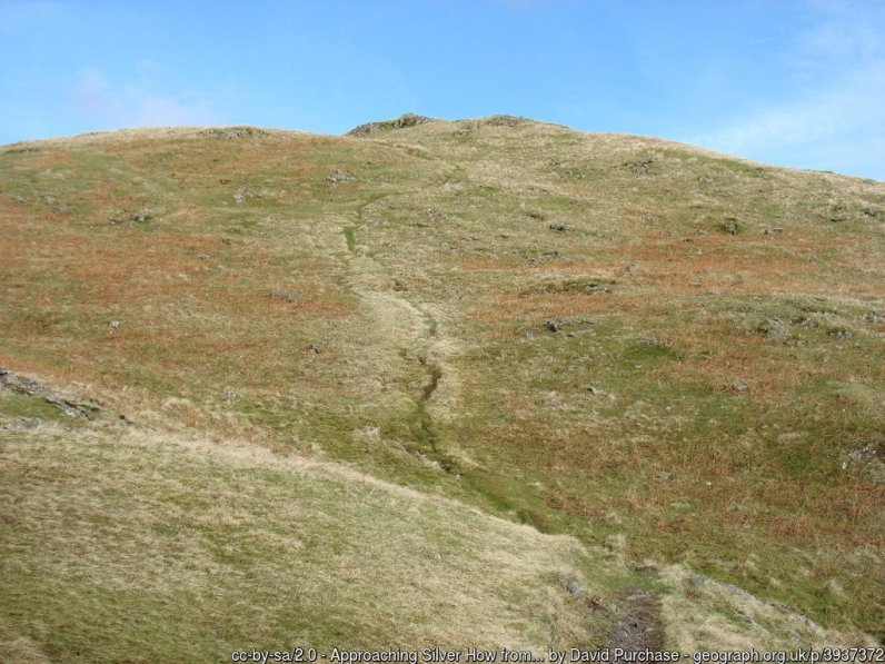 Walk Up Silver How - Langdale to Grasmere