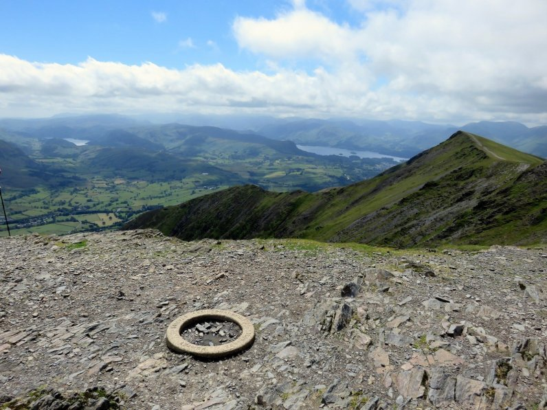 Blencathra - Route 2 - IMG10 - Blencathras summit