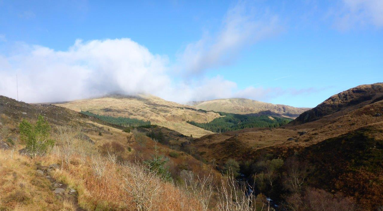 Walk up The Merrick from Loch Trool