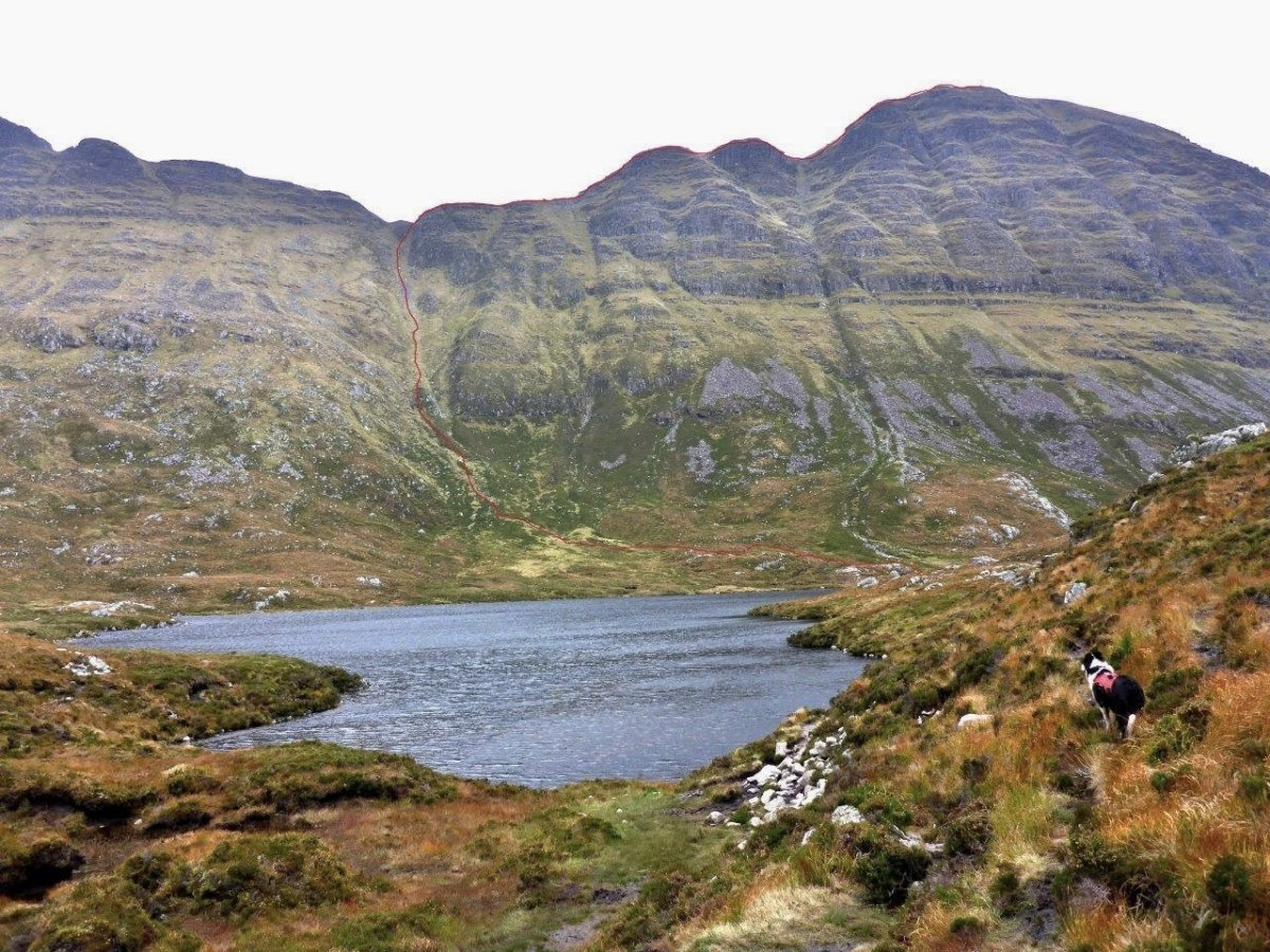 Walk up Suilven from Glencanisp