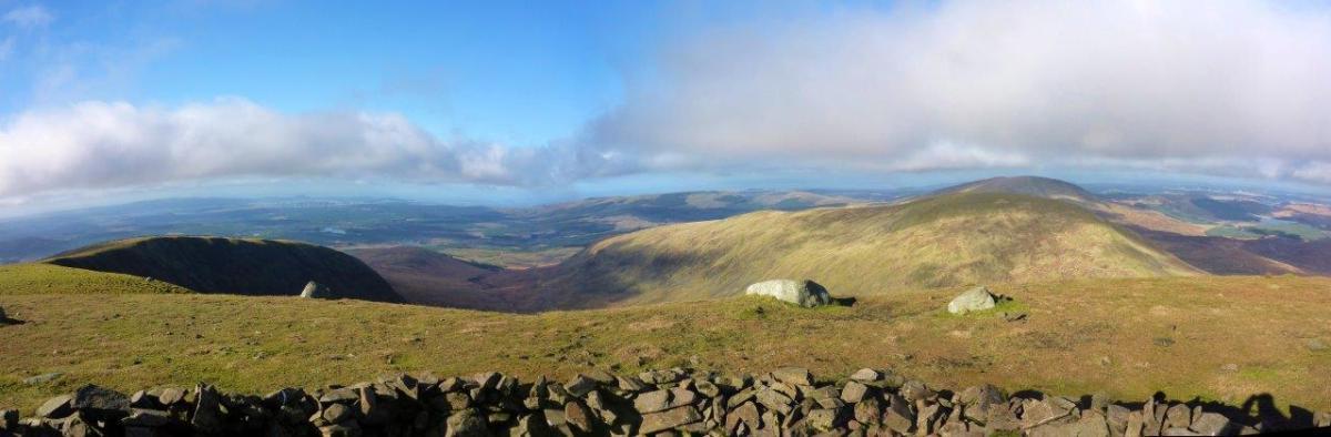 Walk up The Merrick from Loch Trool