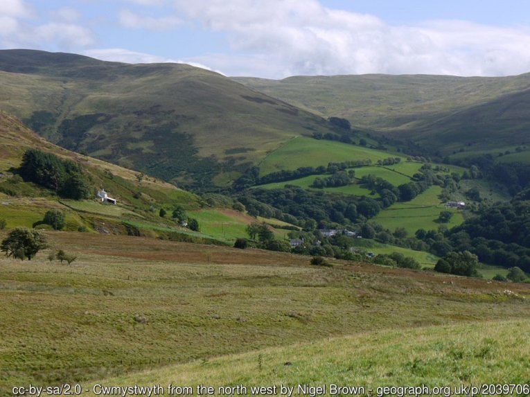 Cambrian Way Stage 9 – Strata Florida to Devil's Bridge