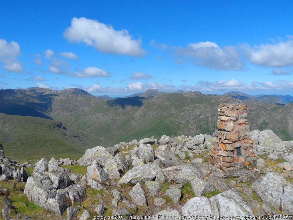 20 High Raise -The Highest Mountains In England - The Top 25