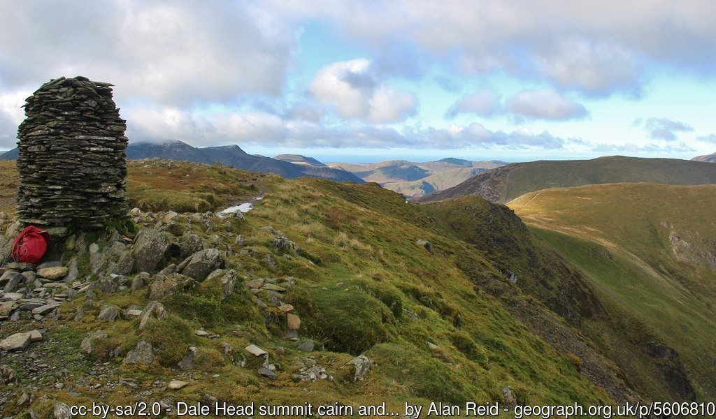 21 - Dale Head - The Highest Mountains In England - The Top 25