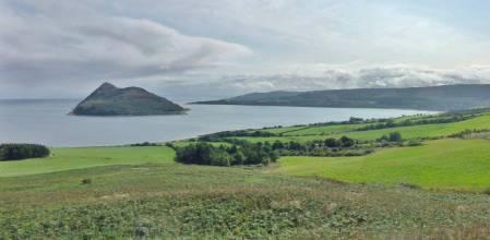 Holy Isle and Lamlash Bay