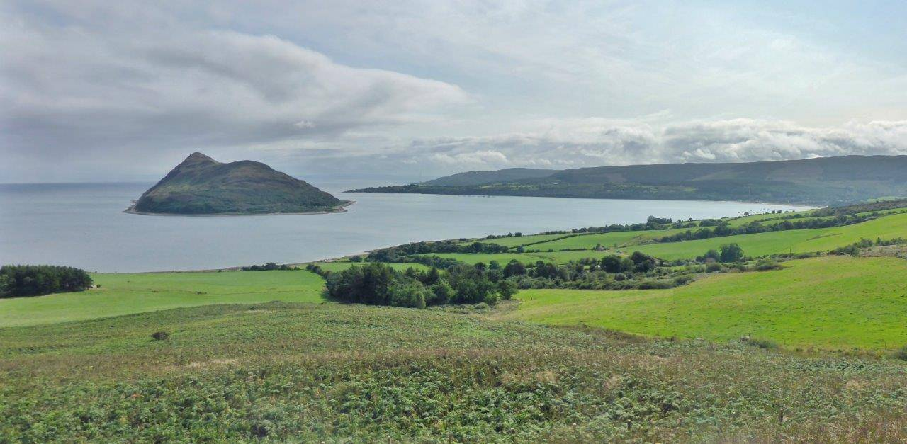 Holy Isle and Lamlash Bay