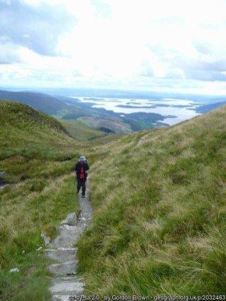 Walk up Ben Lomond From Rowardennan