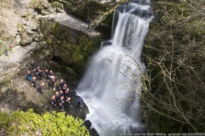 Brecon Beacons Waterfall Country Walk- Four Falls Trail to Sgwd yr Eira and Sgwd Clun-gwyn