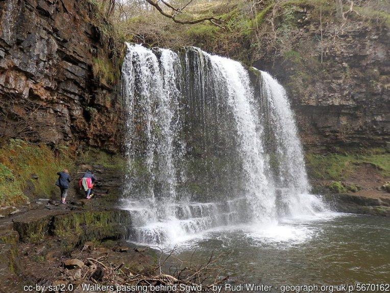Brecon Beacons Waterfall Country Walk- Four Falls Trail to Sgwd yr Eira