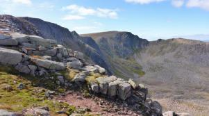 Walk up Ben Macdui from the Cairngorm Ski Centre Aviemore