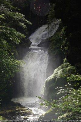 Rhaeadr Cynfal - second set of falls