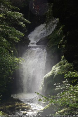 Rhaeadr Cynfal - second set of falls